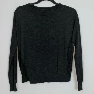 Zadig and Voltaire Merino Wool Knit Sweatshirt Top